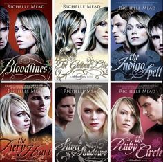 Bloodlines series by Richelle mead