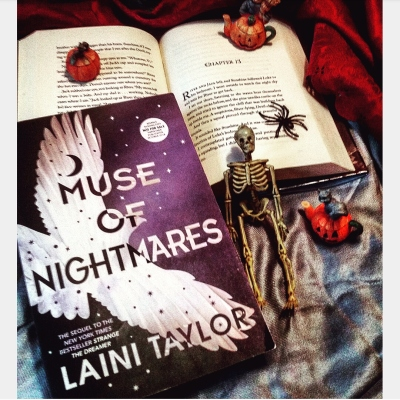 Muse of Nightmares Signed Advanced Review Copy by Laini Taylor