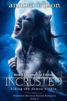 incrusted by annora wilson