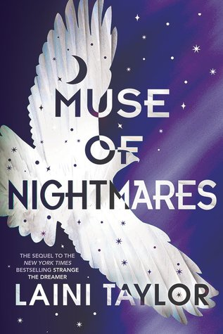muse of nightmares by laini taylor cover image