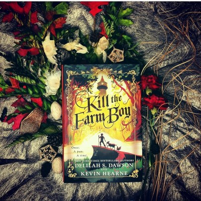 kill the farm boy bookstagram review by delilah Dawson and Kevin Hearne.jpg