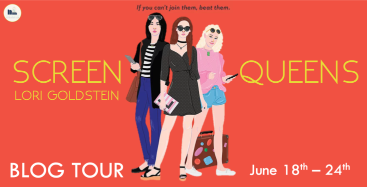 Screen Queens Blog Tour Banner