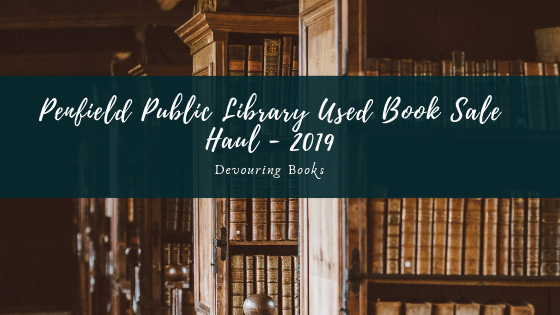 Penfield Public Library Used Book Sale Haul -2019.png