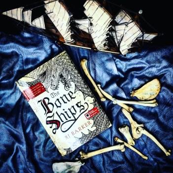 the bone ships by RJ Barker Bookstagram photo.jpg