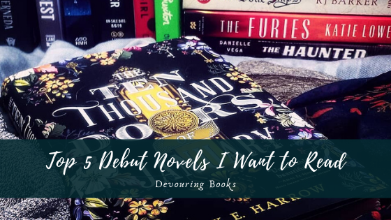 top 5 debut novels I want to read