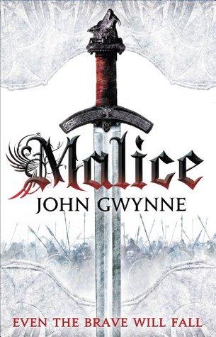 malice by john gwynne book cover