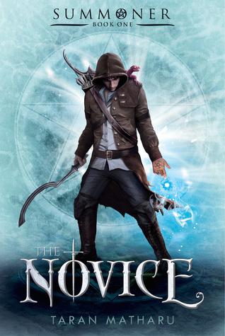 the novice by taran matharu book cover