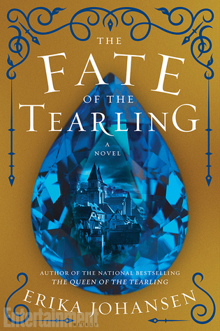 book cover of the fate of the tearling by erika johansen